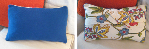 pillows Project Seven: Cashmere Pillow